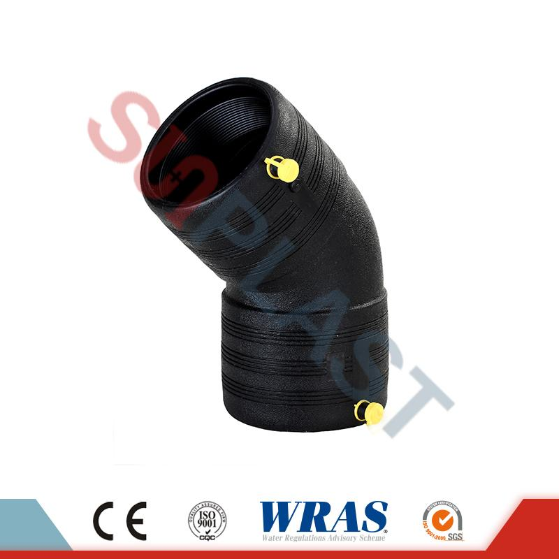 HDPE Electrofusion 45 Degree Elbow