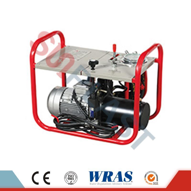 एचडीपीई पाइप के लिए 400-630 मिमी हाइड्रोलिक बट फ्यूजन वेल्डिंग मशीन